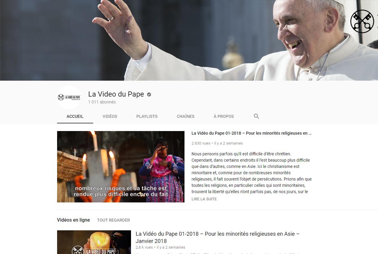 Les Videos du Pape