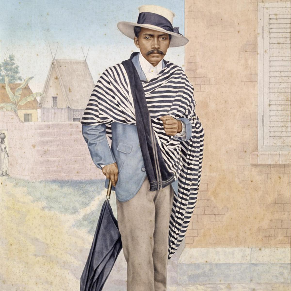 Portrait d'un bourgeois malgache