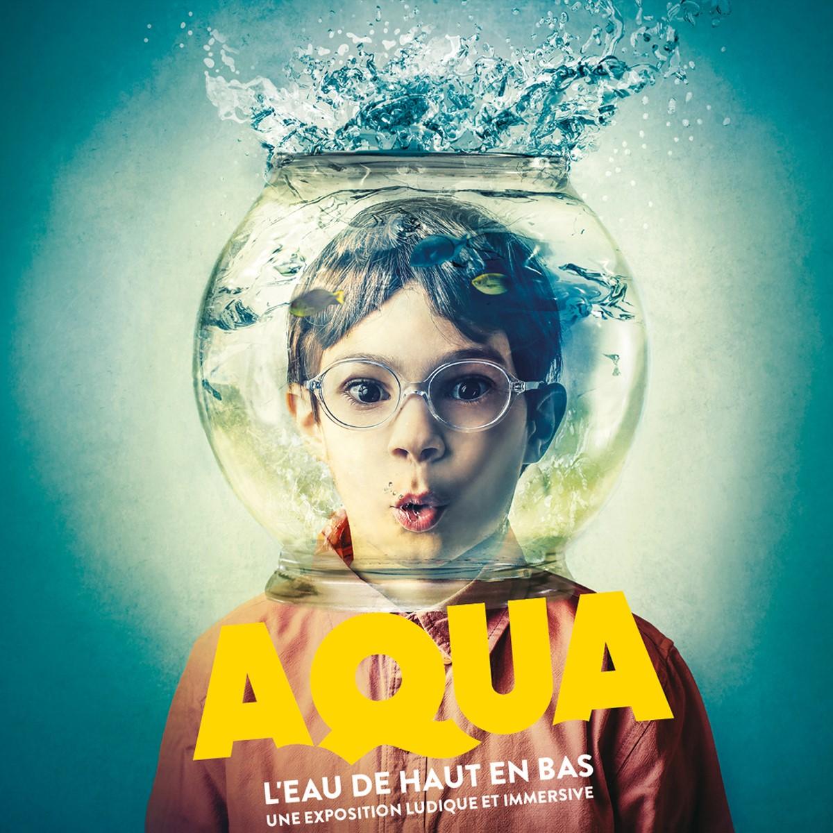 AQUA. L'eau de haut en bas