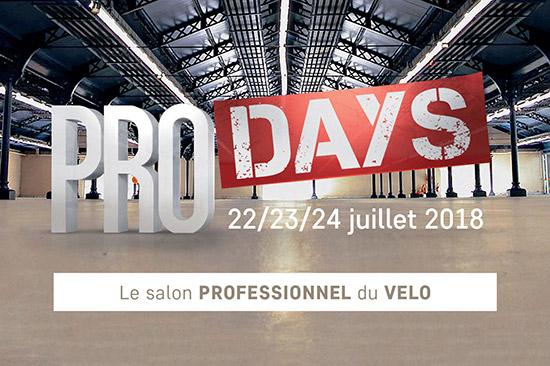 Affichez les images pour voir l'affiche du salon Pro-Days