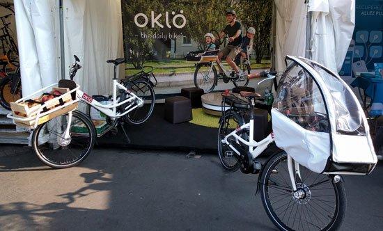 Affichez les images pour voir une photo du stand Oklö aux Pro Days 2018