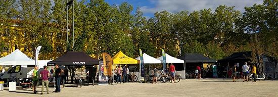 affichez les images pour voir le Lyon Cargo Bike Festival