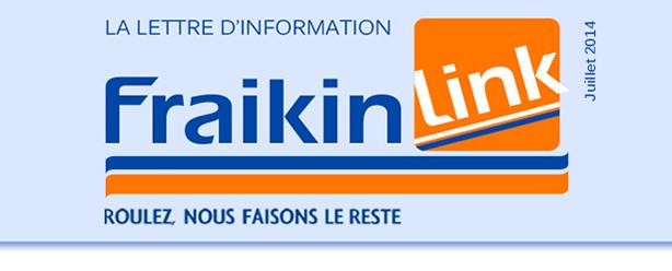 LA LETTRE D'INFORMATION FRAIKIN