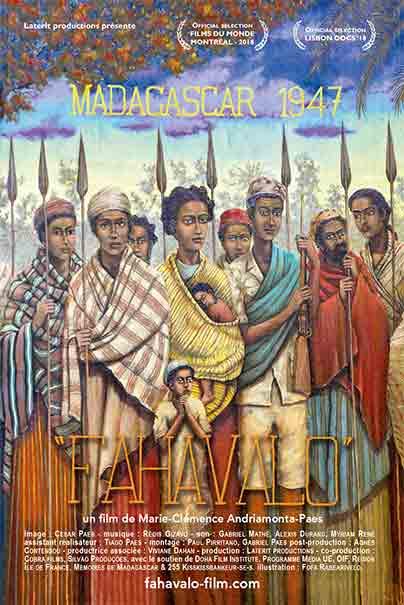FAHAVLO poster par Fofa Rabearivelo
