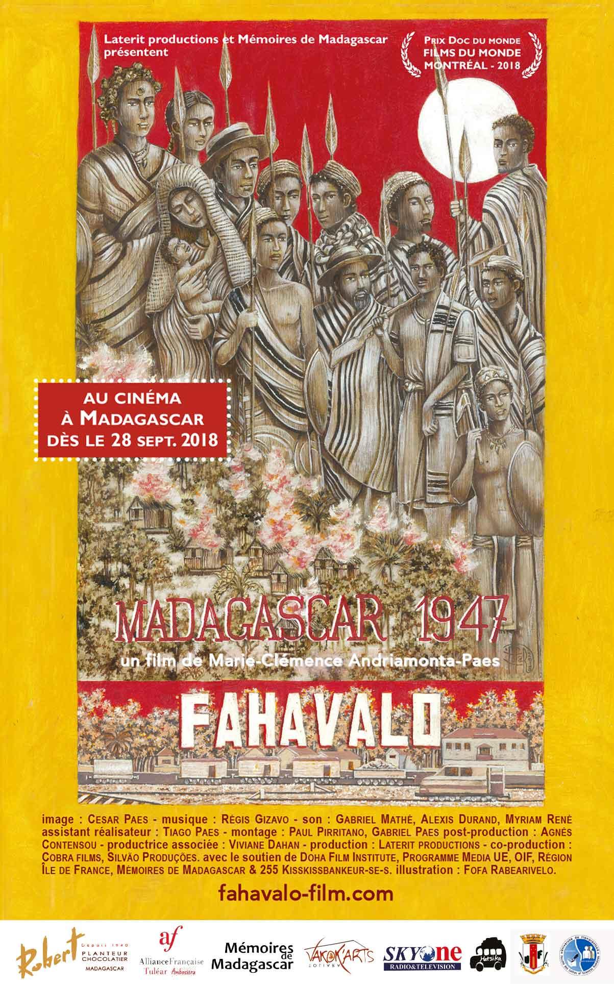 FAHAVALO poster par Fofa Rabearivelo