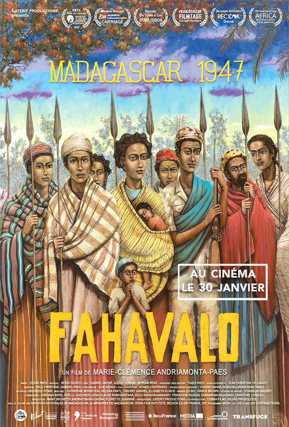 Affiche du film FAHAVALO par Fofa Rabearivelo
