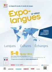 Expolangues, du 5 au 8 février 2014 - Paris