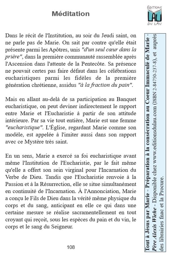 Connu Publications de la communauté Neuvaines et consécrations pour les  RO25