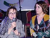 Maria et Sevda les déléguées régionaux de Paris