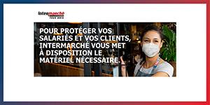 INTERMARCHE lance son site e-commerce BtoB pour la vente de masques