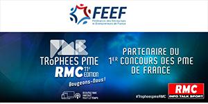 La FEEF est partenaire et membre du jury du concours «Trophées PME RMC»
