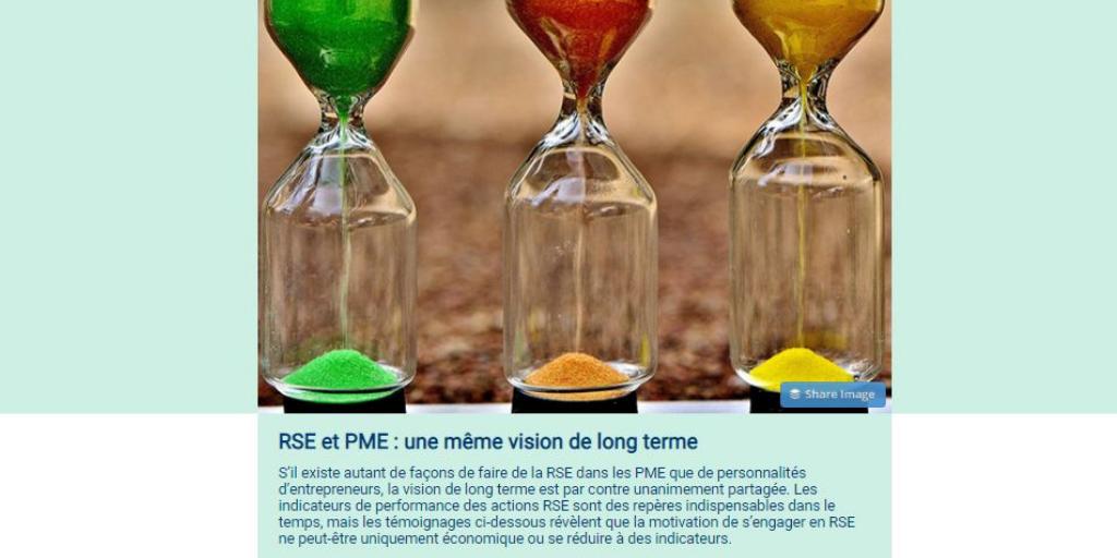 La dernière newsletter PME+ vient de paraître