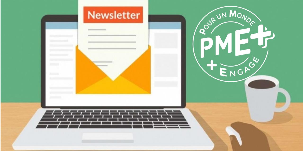 S'abonner à la newsletter PME+