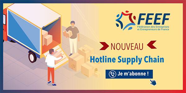 Réduisez vos coûts avec notre Hotline Supply Chain !
