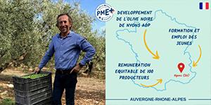 LE BRIN D'OLIVIER obtient le label PME+