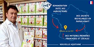 Lucien Georgelin Céréales obtient le label PME+