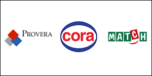 Organigramme Provera, Cora et Match