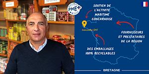 La Conserverie Gonidec obtient le label PME+