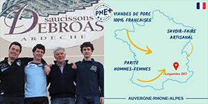 Le Groupe Debroas obtient le label PME+