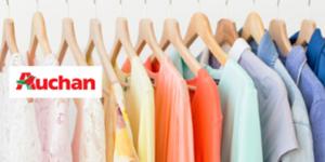AUCHAN : Revue de marché Textile