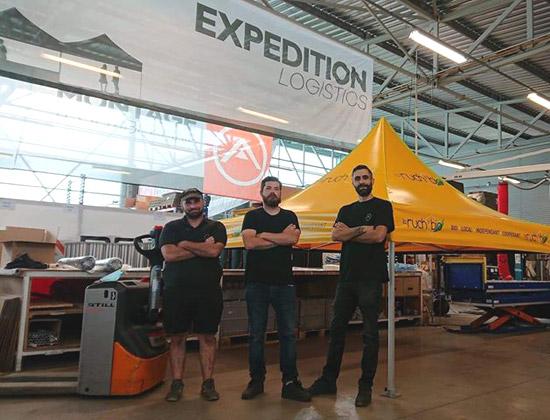 Le service expédition
