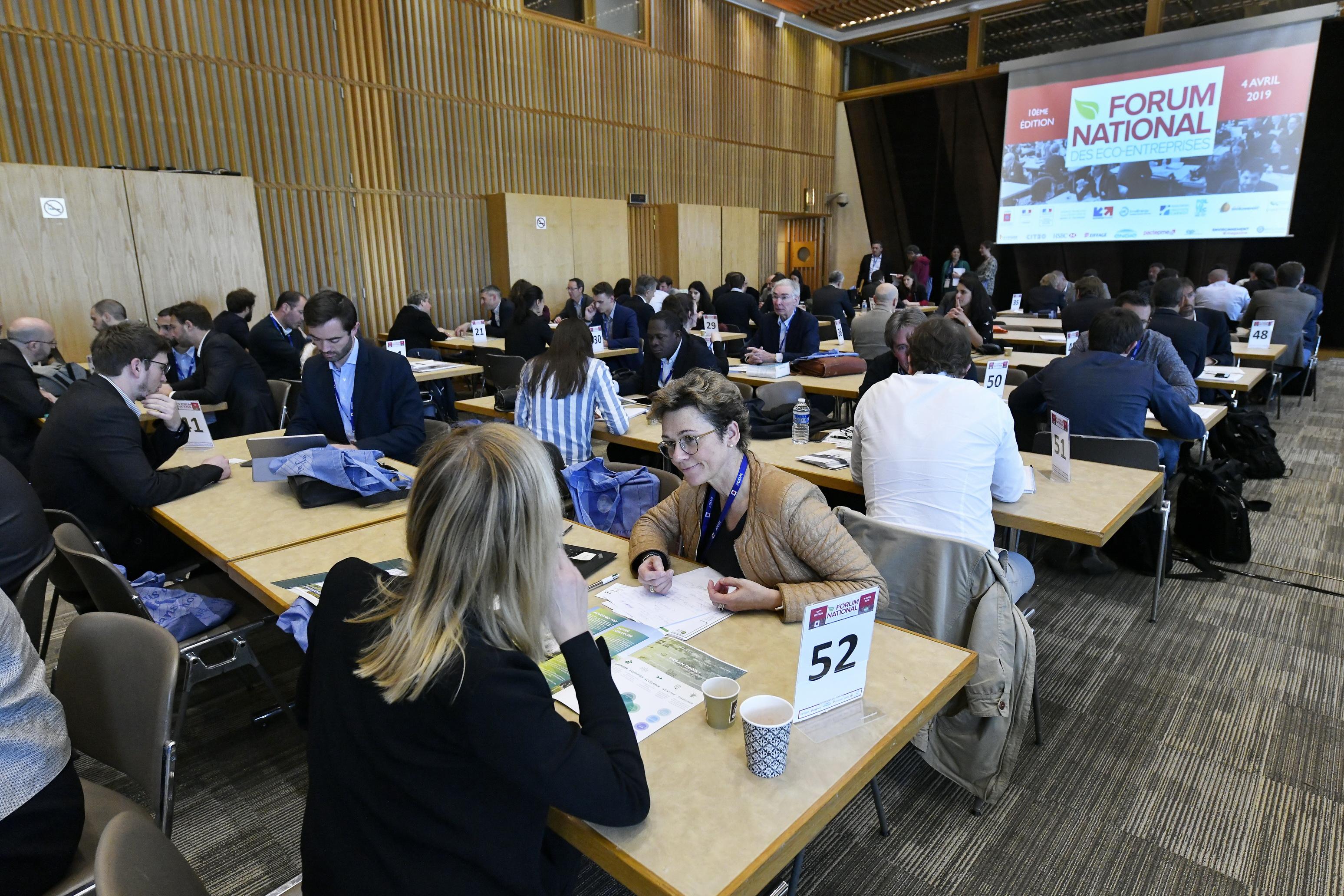 Le 2 avril prochain : Forum national des éco-entreprises
