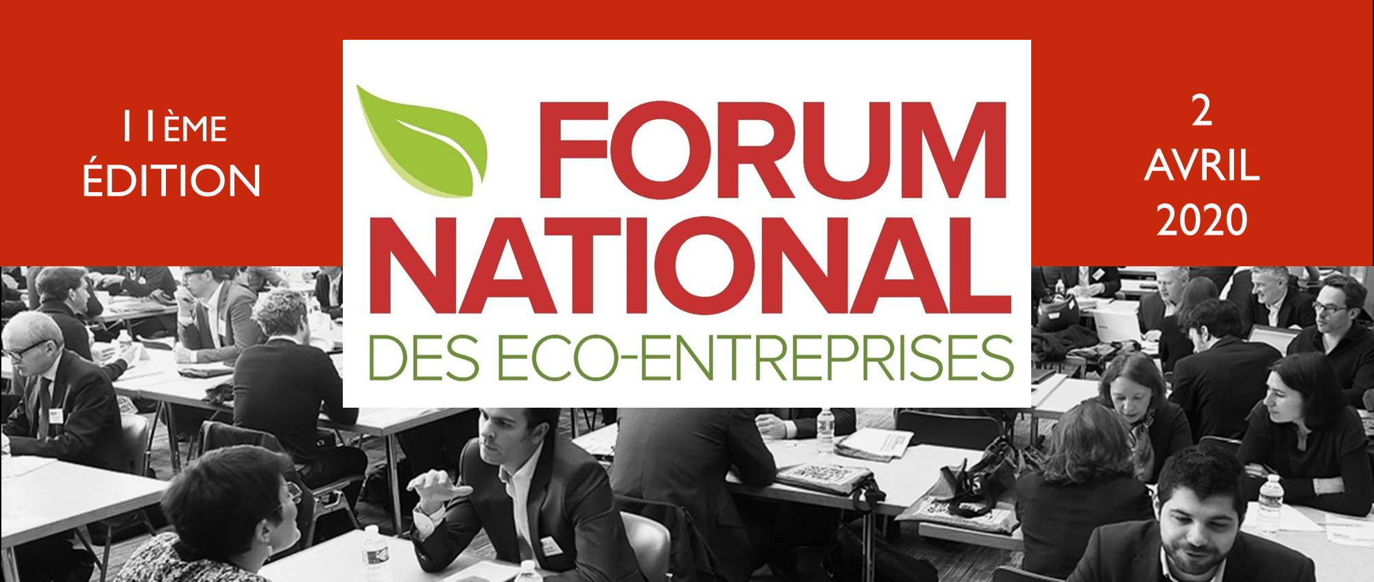 Participez au prochain Forum national des éco-entreprises