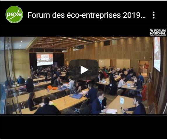 Vidéo des 10 ans du Forum national des éco-entreprises