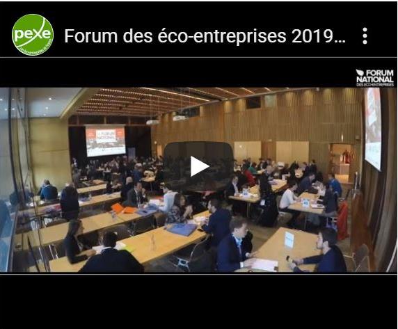 Forum des éco-entreprises 2019 du PEXE