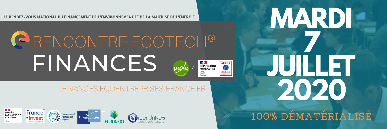 Rencontre Ecotech Finances le 7 juillet