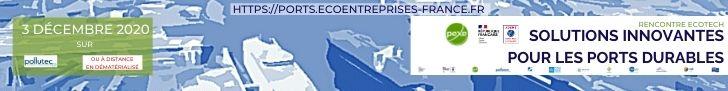 Participez à la rencontre Ecotech Ports durables