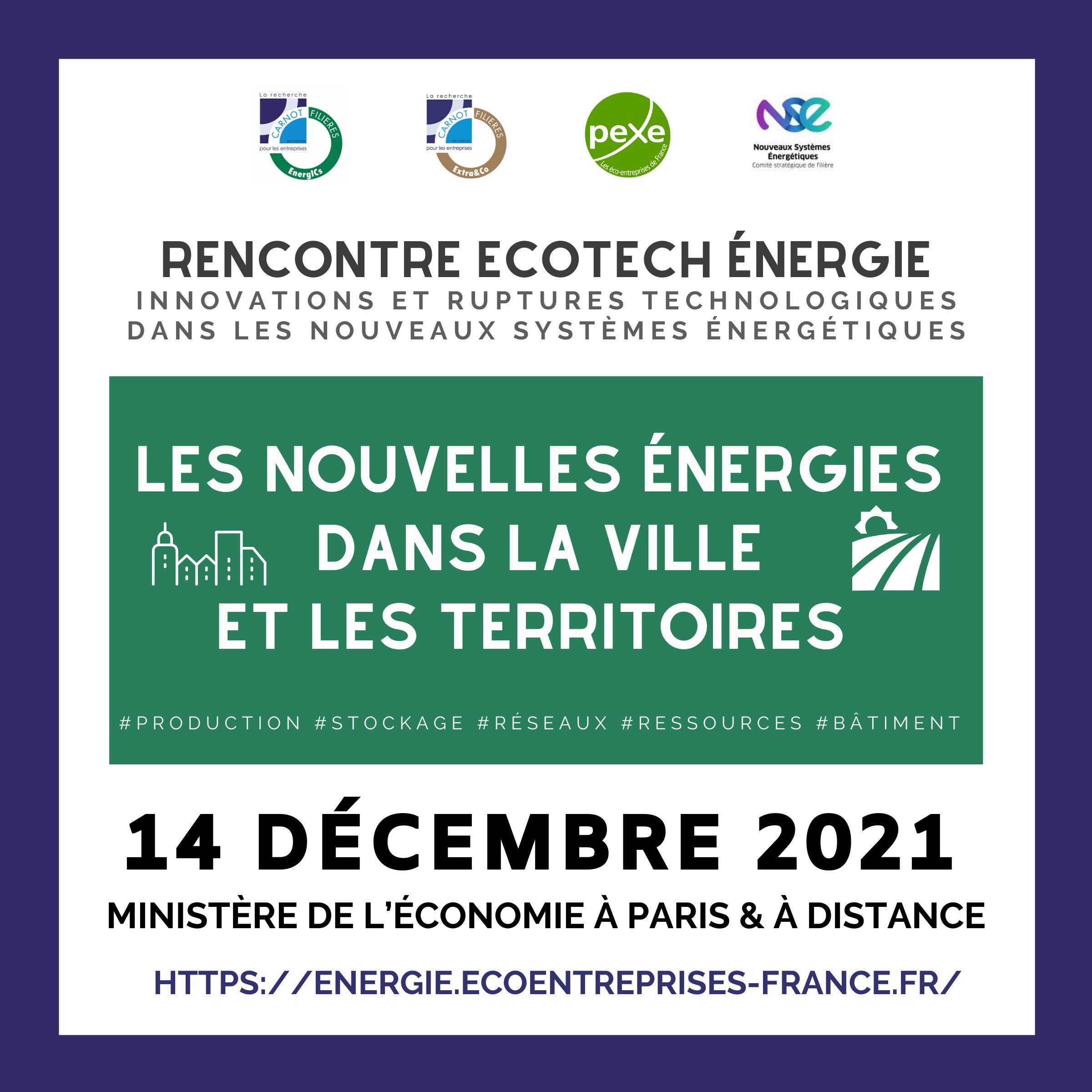Acteurs des nouveaux systèmes énergétiques, référencez-vous !