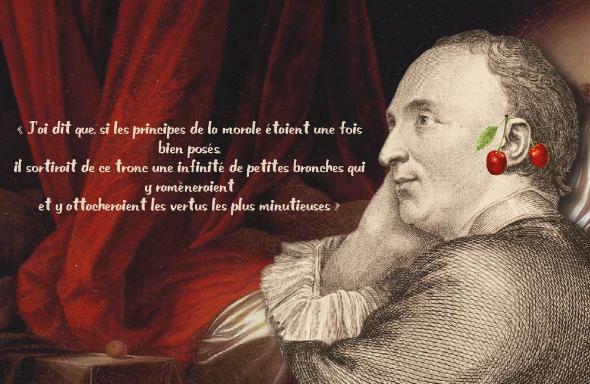 "Illustration du colloque ""Les morales de Diderot"" (2020)"