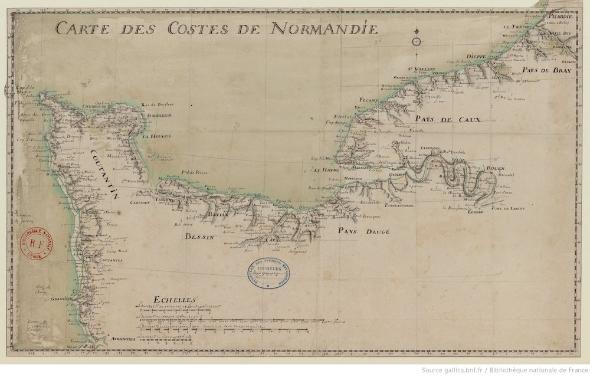 """Illustration du colloque """"Mémoires et enjeux du maritime en Normandie"""" (2020)"""