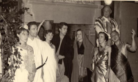 Soirée théâtrale d'Auguste Dorchain [Cerisy, 1961]