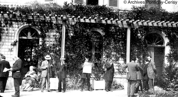 Les rencontres de Pontigny en 1911