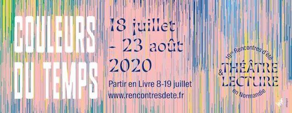 Rencontres d'été théâtre & lecture en Normandie (2020)