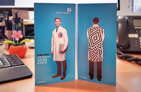 L'Institut Pasteur vous souhaite une bonne année 2020 !