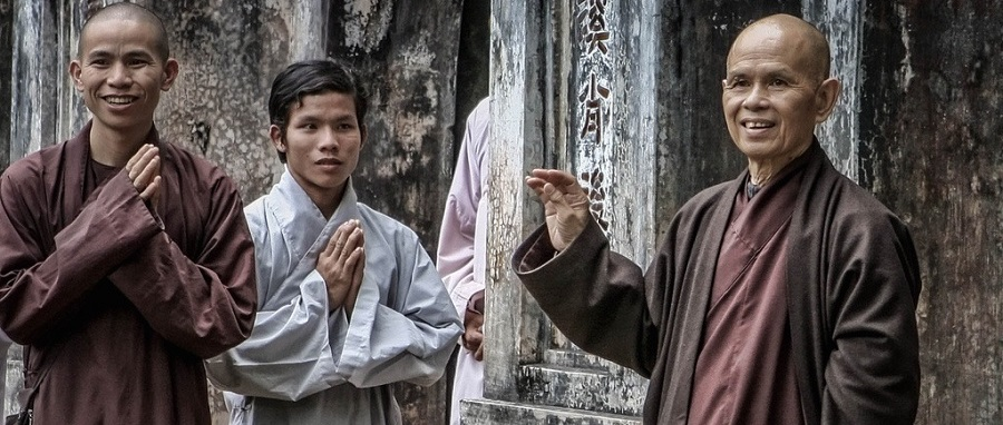 The Venerable Thich Nhat Hanh: Please speak out against the cruel dog meat trade in Asia.