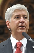 Michigan Governor's Office replies, but declines to take action.