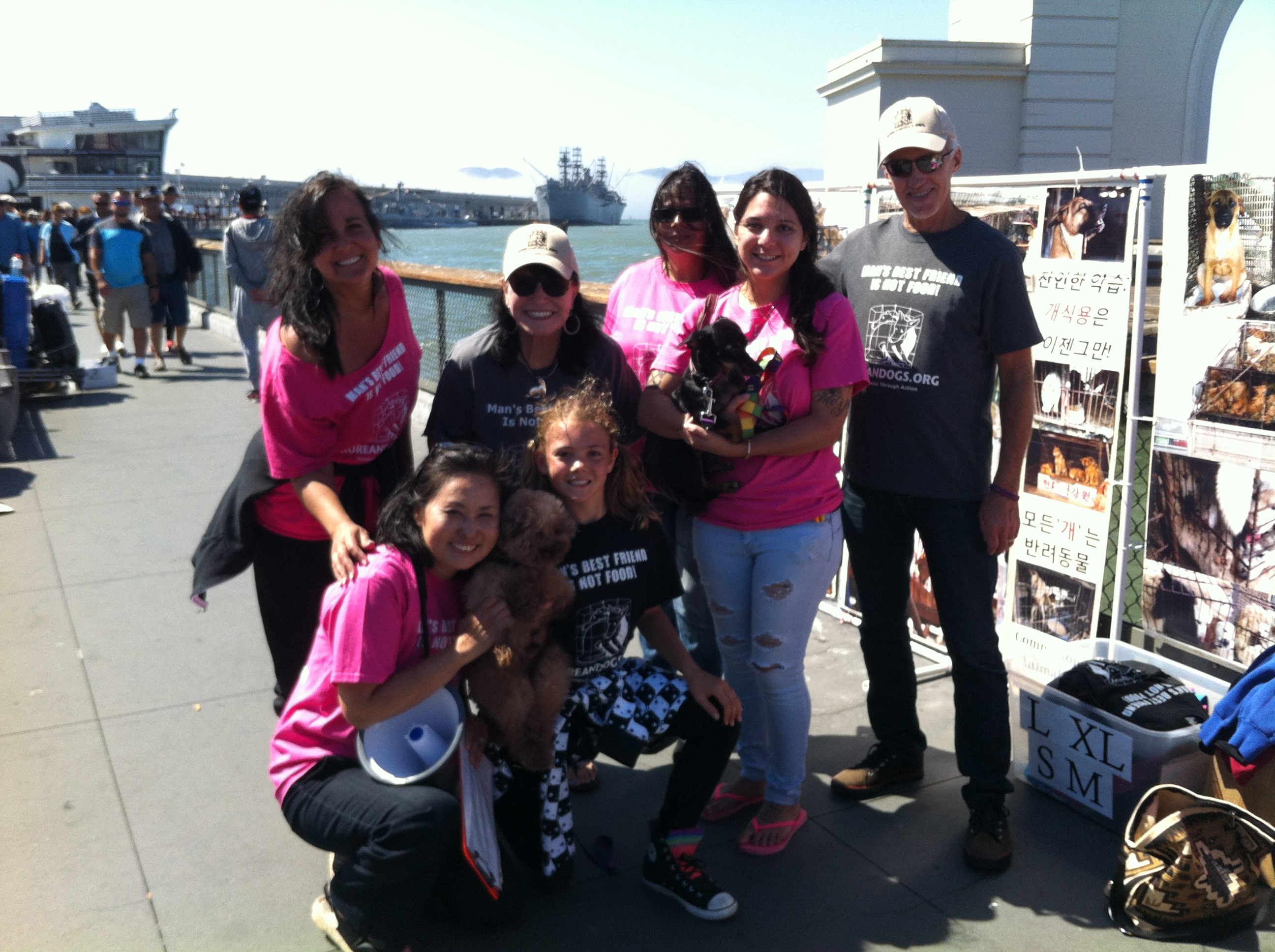 October 21, 2017 Saturday - Fisherman's Wharf, San Francisco, California