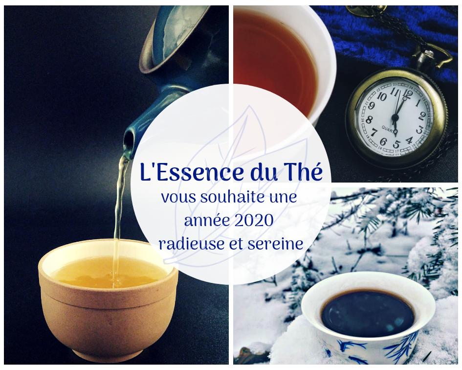 Voeux 2020 de L'Essence du Thé