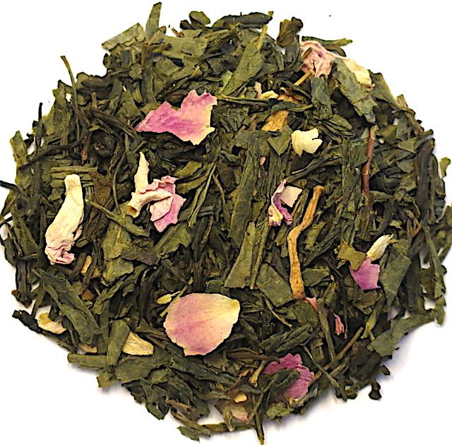 Thé vert bio aromatisé