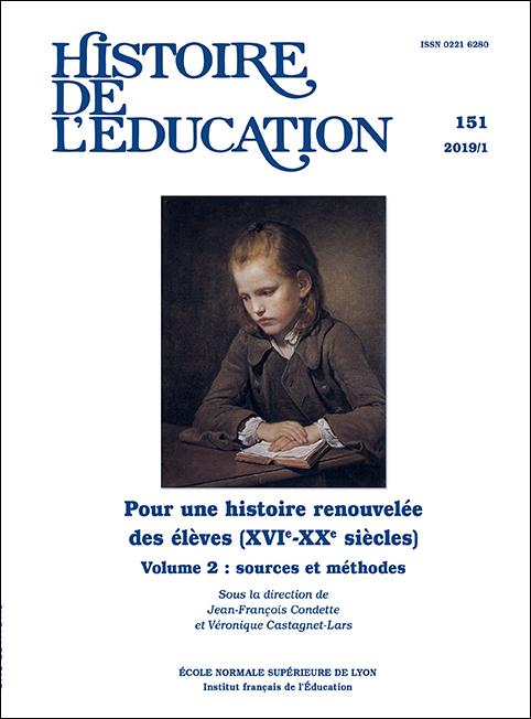 Histoire de l'éducation n° 151