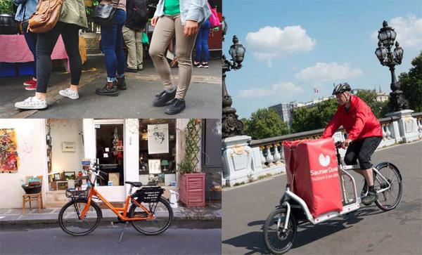 « Piétons et cyclistes: de bons clients pour vos commerces »