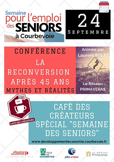 Emploi des Seniors à Courbevoie