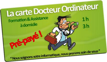 Offre carte Prépayée franchise Docteur Ordinateur