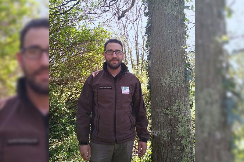 Vincent Dumez, agent technique forestier