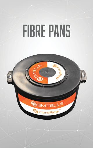 Plastic Fibre Pan