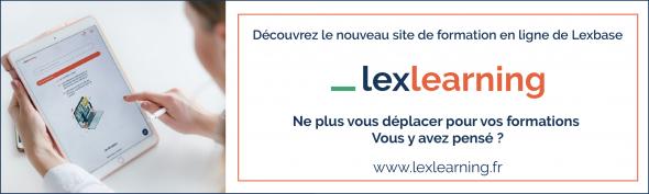 Découvrez le nouveau site Lexlearning signé Lexbase